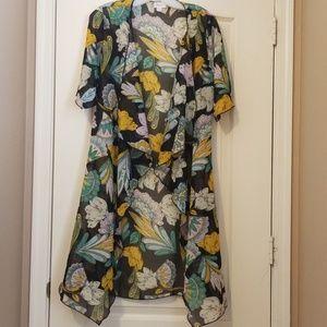 LuLaRoe Long Kimono Size S
